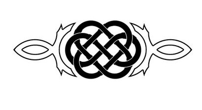 Celtic Endless Knot Tattoo Stencil