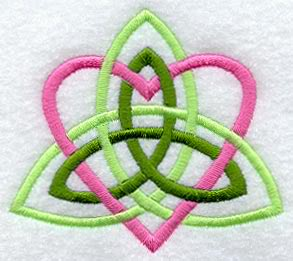 Celtic Heart Knot Design