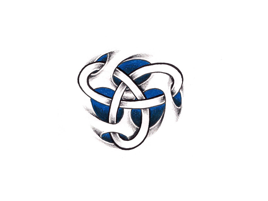 Celtic Infinity Knot Tattoo Design