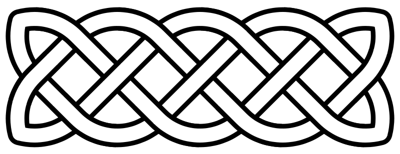 Celtic Knot Band Tattoo Design