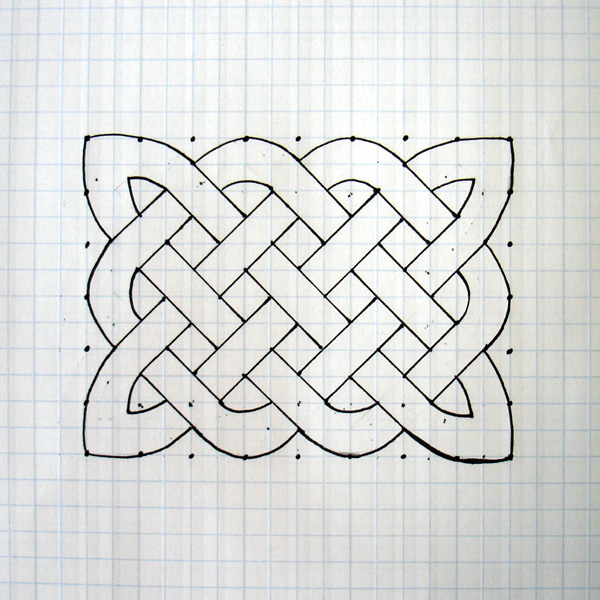 Celtic Knot Tattoo Graphic