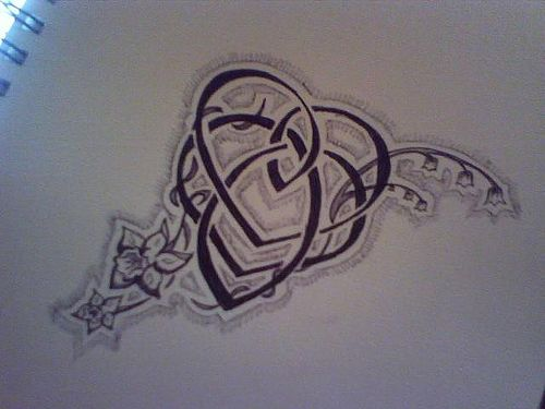 Celtic Motherhood Knot Tattoo