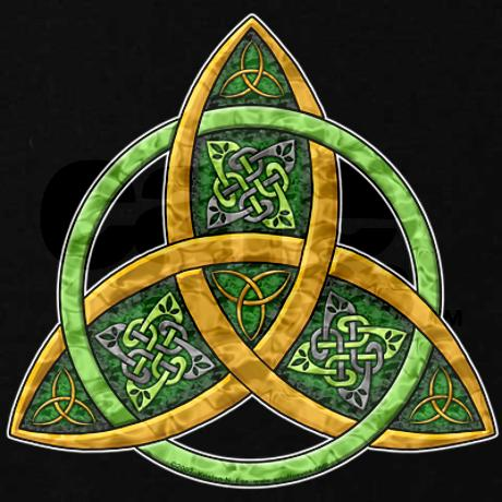 Celtic Trinity Knot Tattoo Graphic