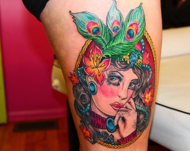Cool Leg Tattoo Fashion