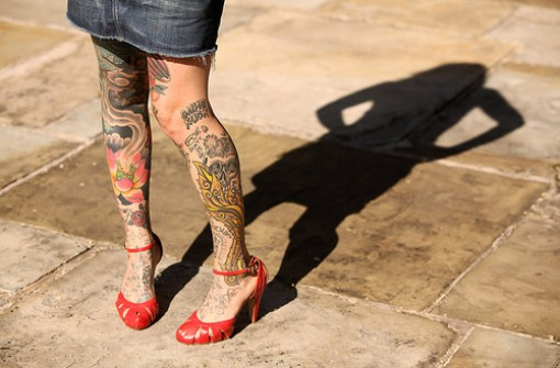 Coolest Leg Tattoo Designs For Girls