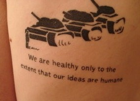 Coolest Literary Tattoo Design
