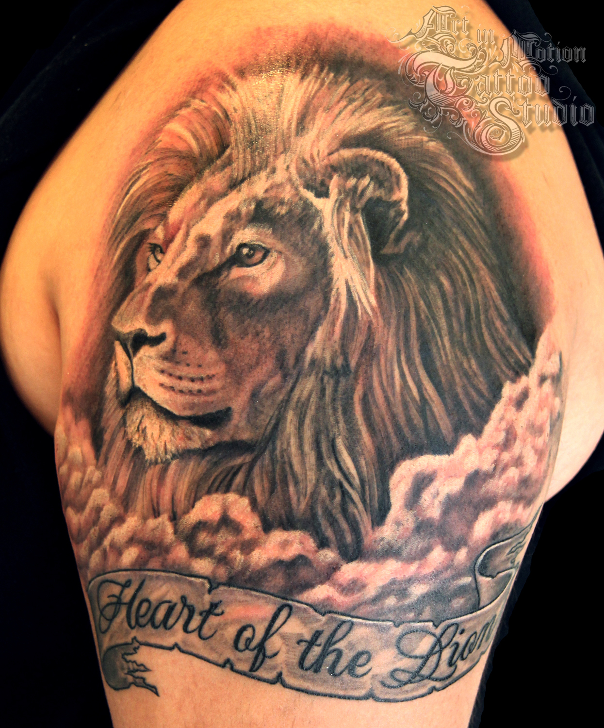 Lion Tattoos Designs And Ideas  Page 7