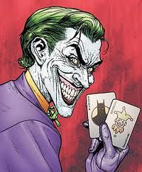 Joker Comic Tattoo Design
