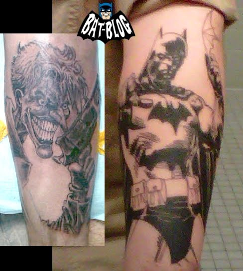 Batman Joker Card Tattoo Joker n Batman Tattoo Design