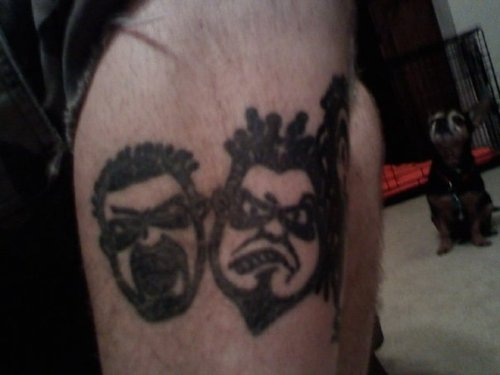 Juggalo Masks Tattoo Designs