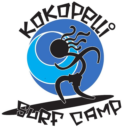 Kokopelli Surf Camp Tattoo Design