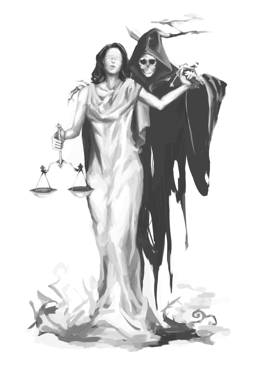 Blind Lady Justice Images Lady Justice And The Grim