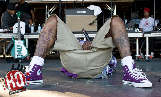 Lil Wayne Leg Tattoo Designs