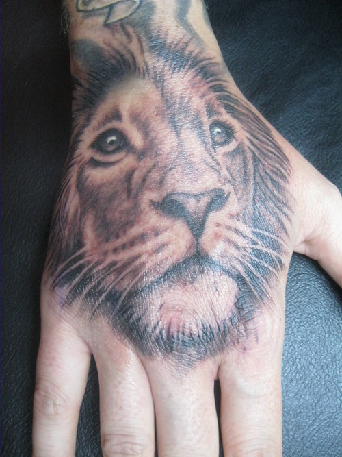Two headed lion tattoo - photo#19