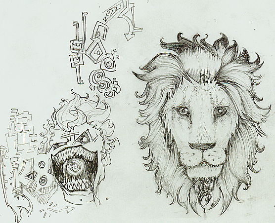 New Lion Tattoo Version