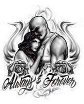 Always Forever Mexican Tattoo Design