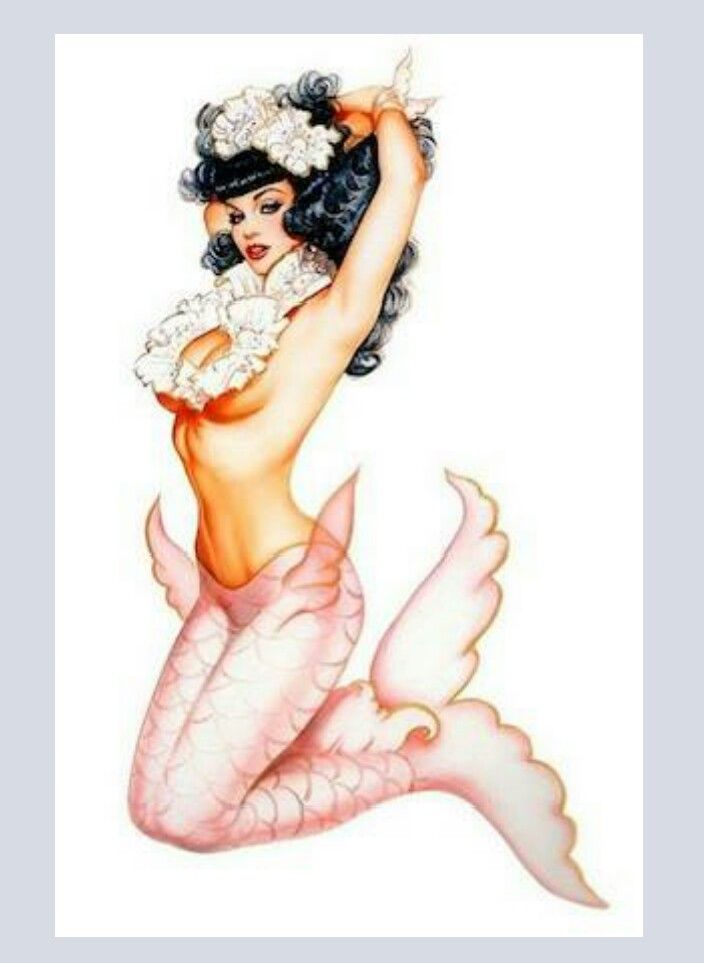 Bettie Mermaid Tattoo Picture
