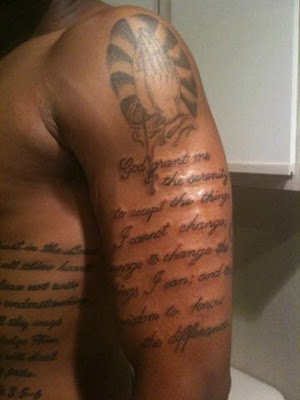 Bible Literary Tattoo Pictures For Men