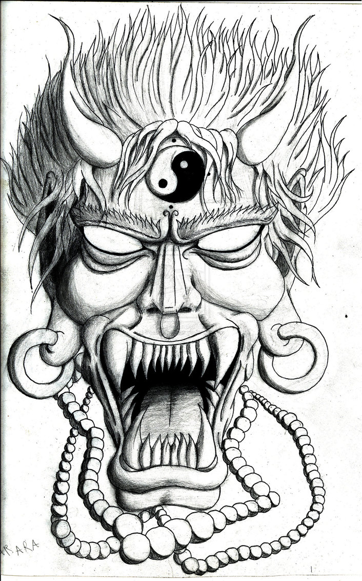 Mask Tattoos Designs And Ideas Page 21