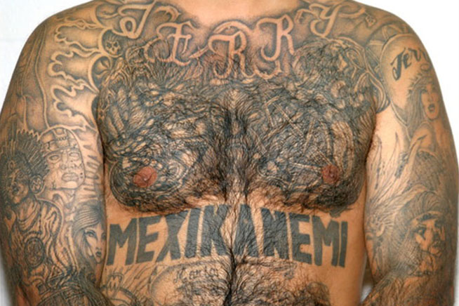 Full Body Mexican Tattoo Designs