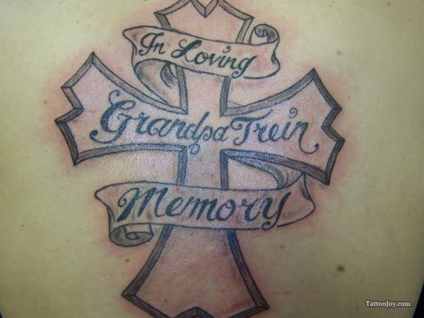 Grandpa Memorial Tattoo Design