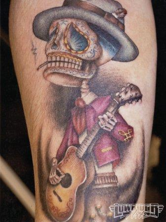 Incedible Mexican Tattoo Design