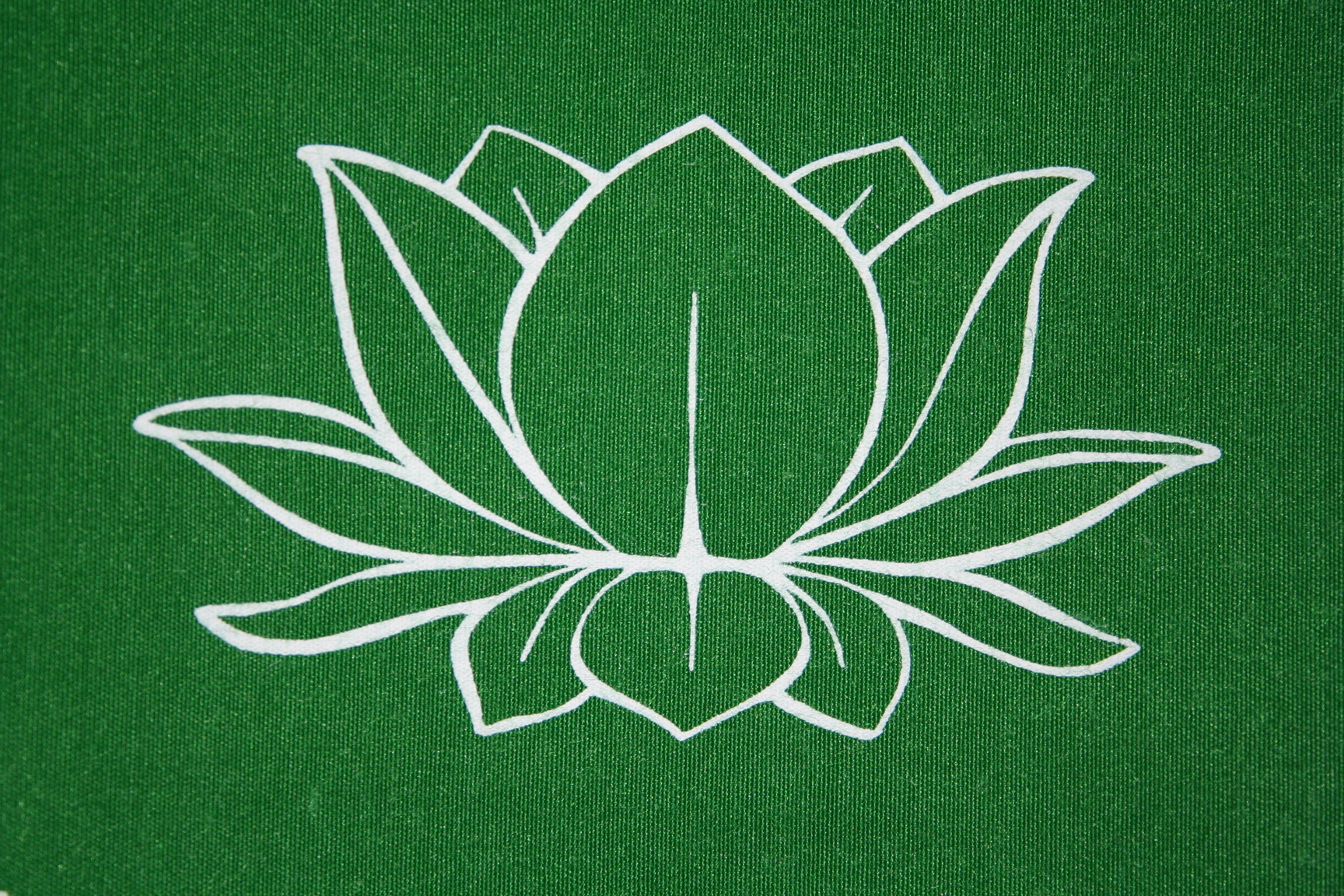 Lotus Outline Tattoo Graphic