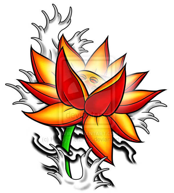 Lotus Tattoos, Designs And Ideas : Page 72