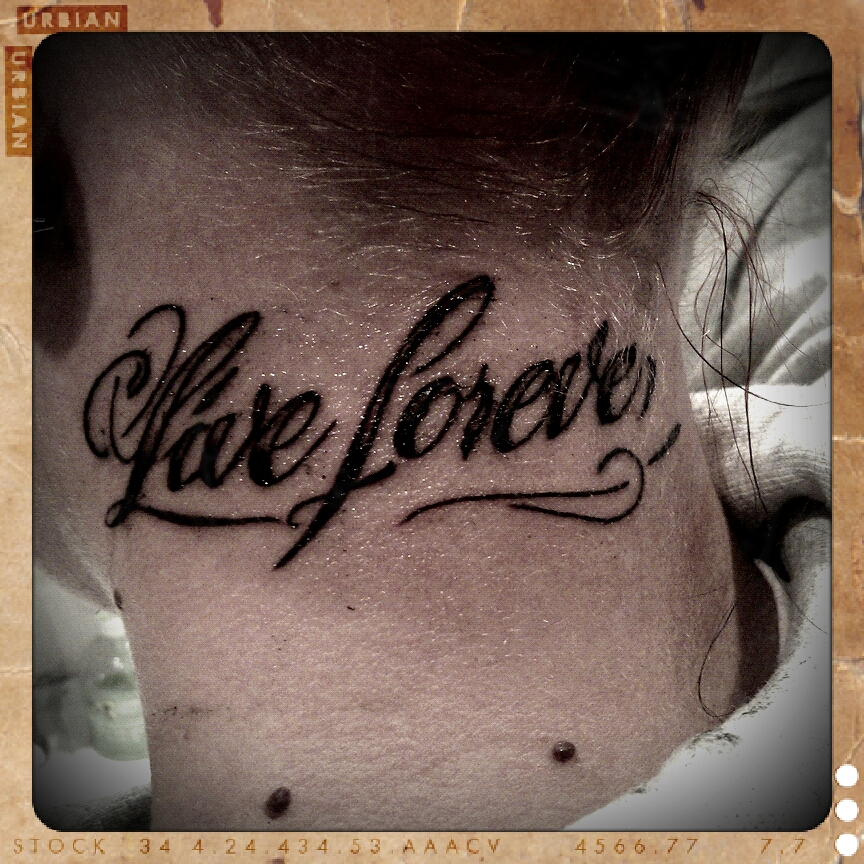 Love Forever Tattoo Picture