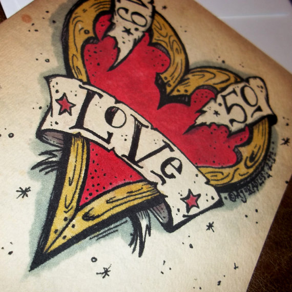 Love Heart Tattoo Page