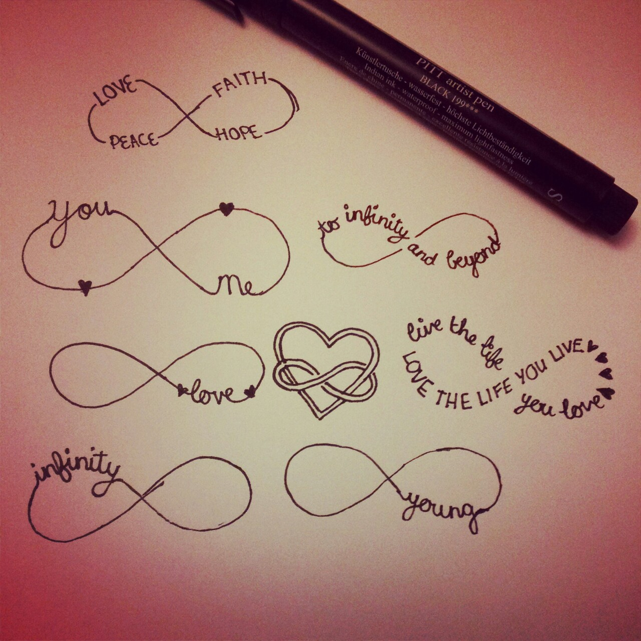 Tattoo designs for love handles
