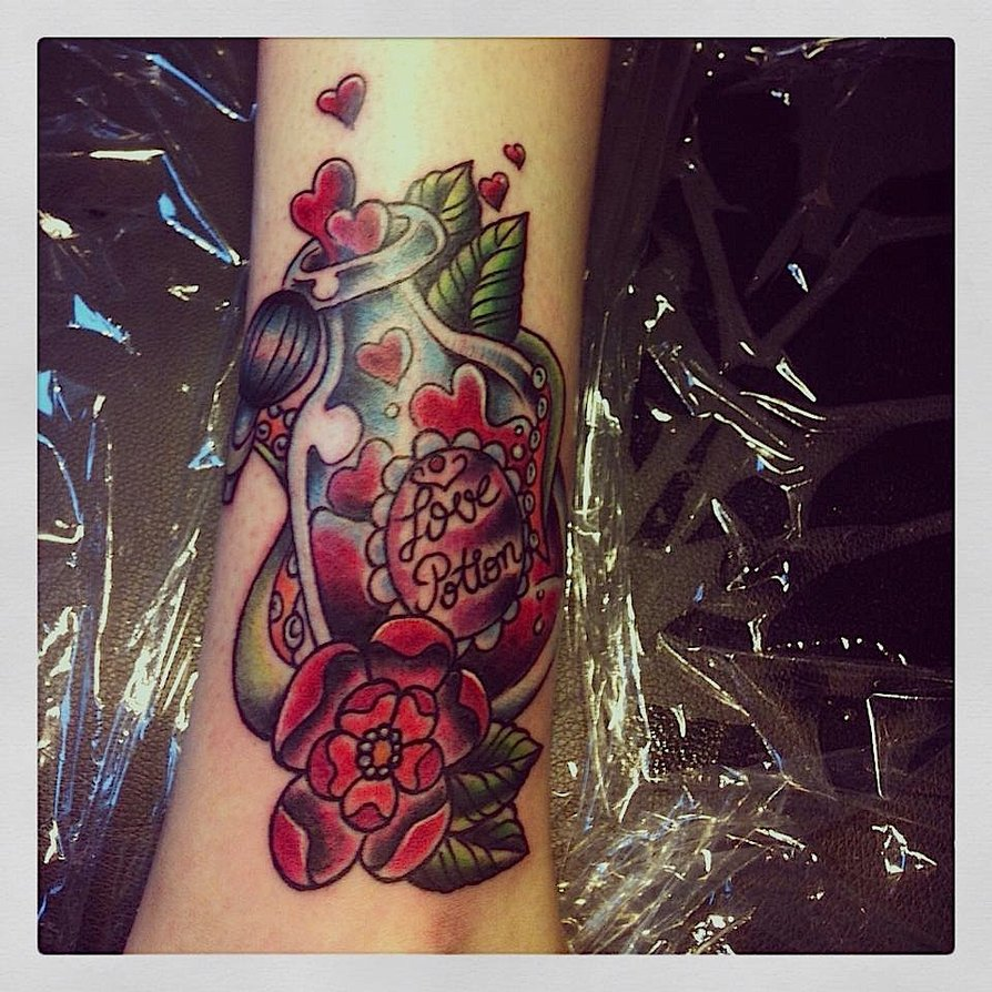 Love Potion Tattoo Picture