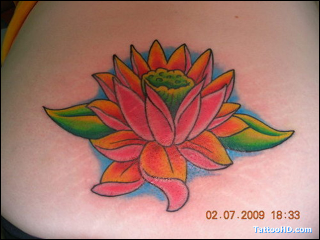 Lovely Lotus Tattoo Picture