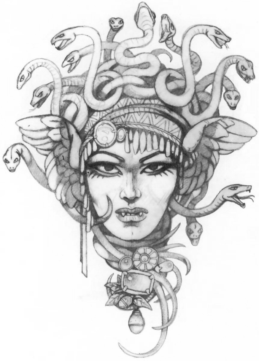 Medusa Tattoos Designs And Ideas Page 32