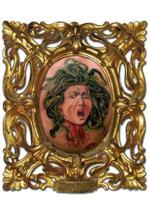 Medusa Tattoo Frame