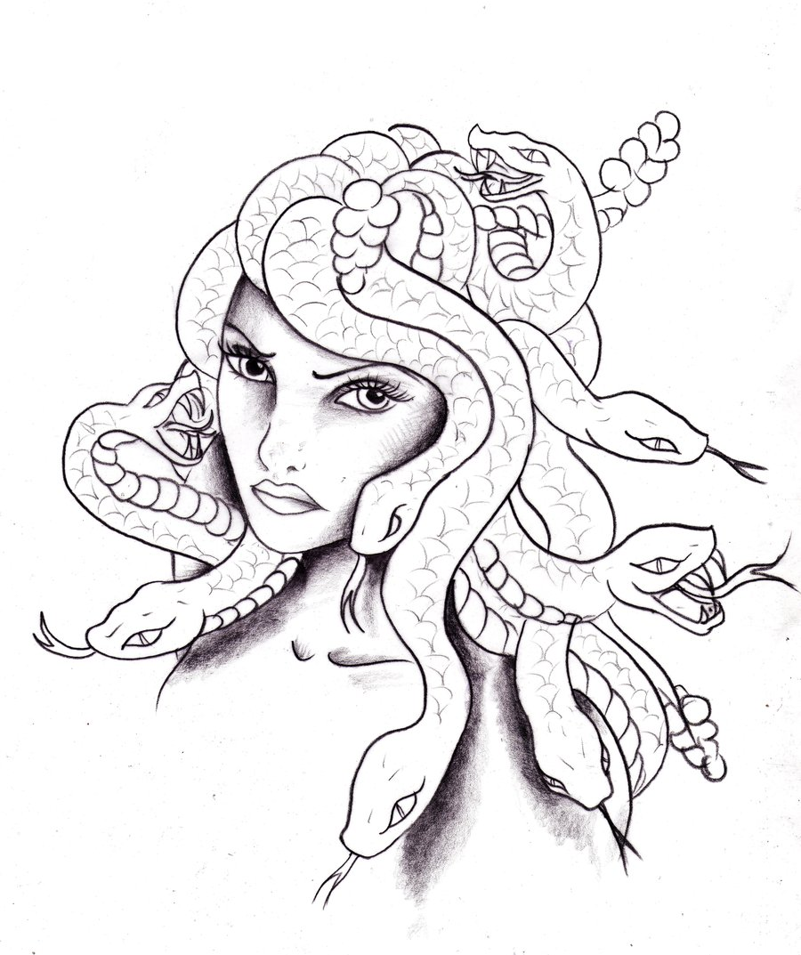 Medusa Tattoos Designs And Ideas Page 25