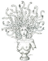 Medusa Tattoo Version
