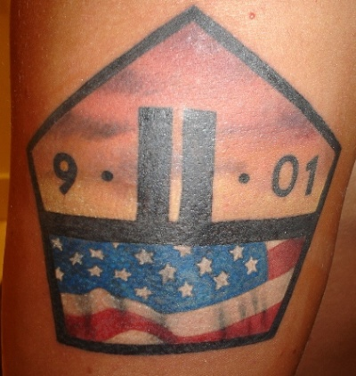 Memorial American Tattoo Design