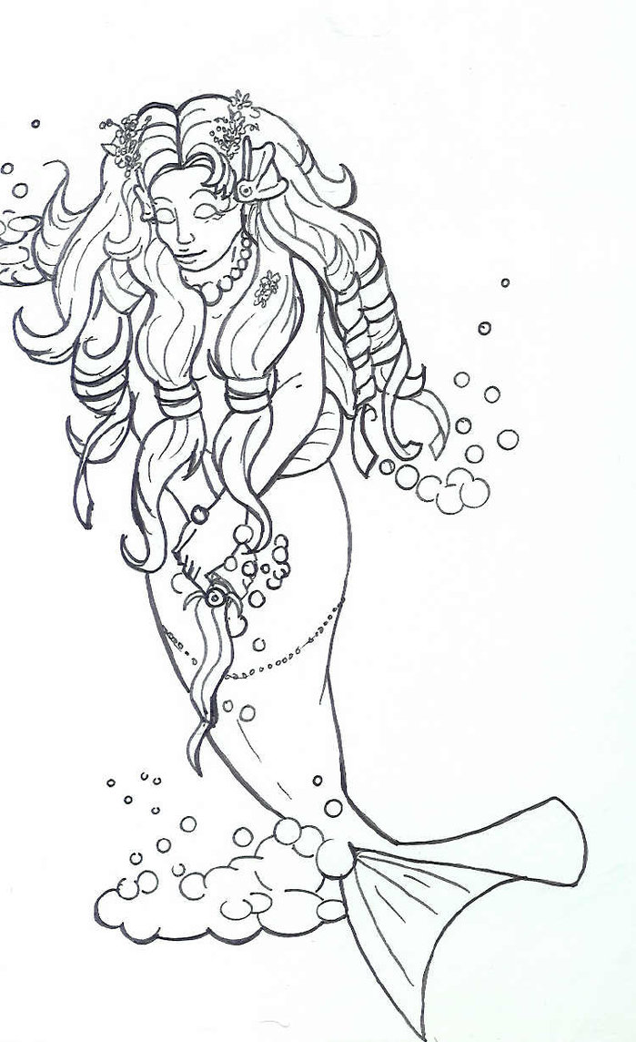 Mermaid Tattoo Concept