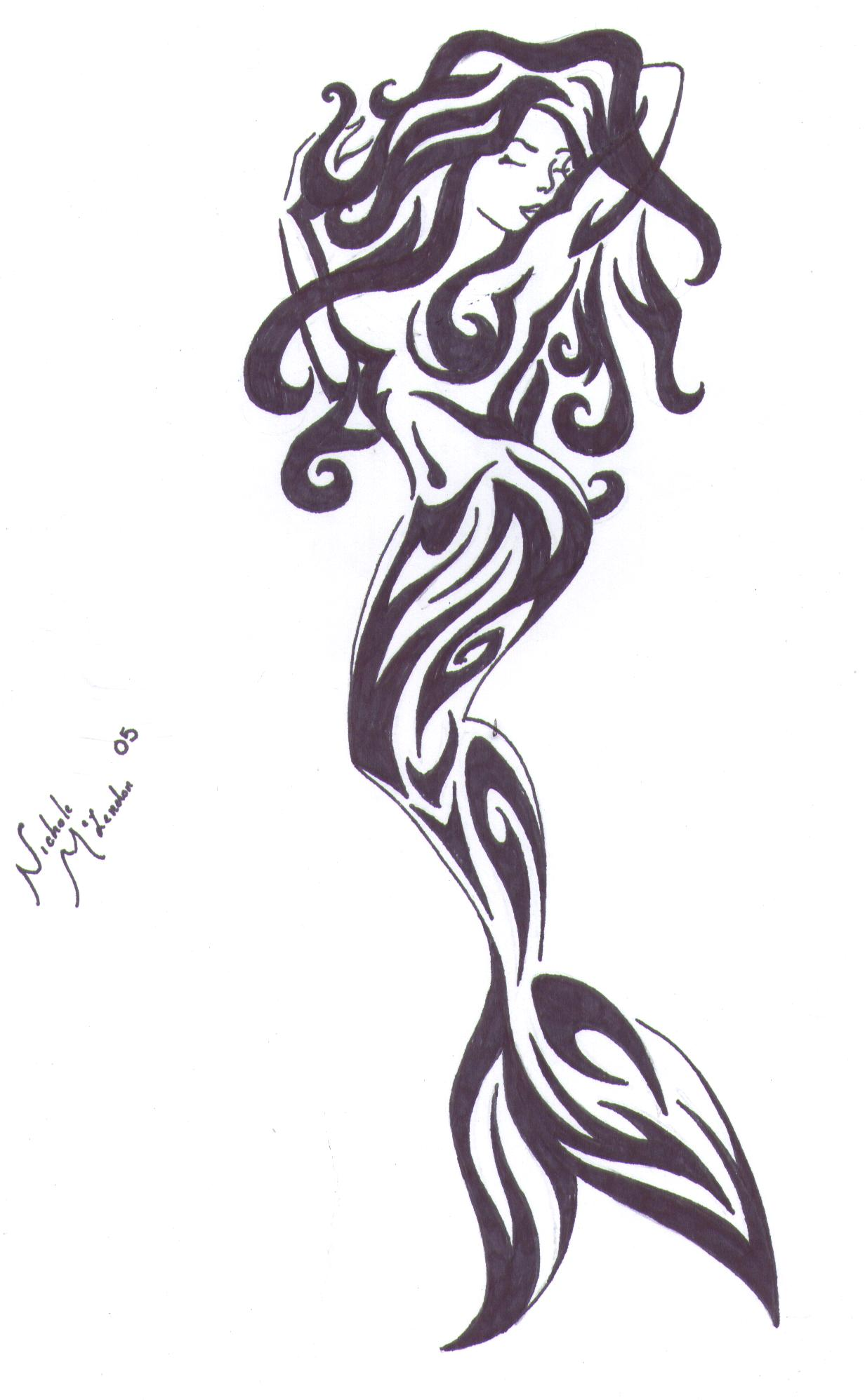 Mermaid Tattoos Designs And Ideas  Page 33