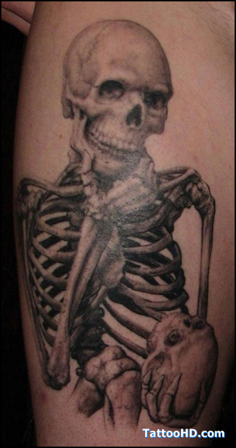 Mexican Skeleton Tattoo Designs