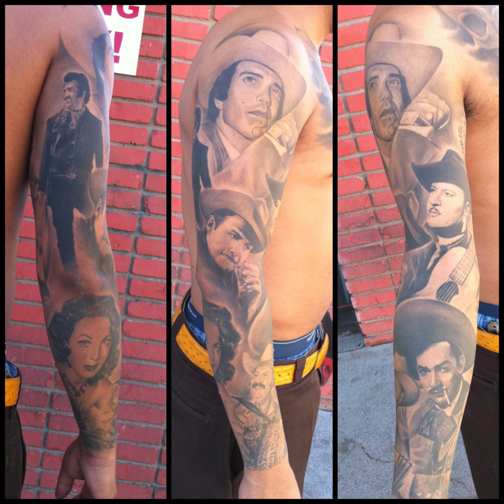 Mexican Sleeve Tattoo For Men