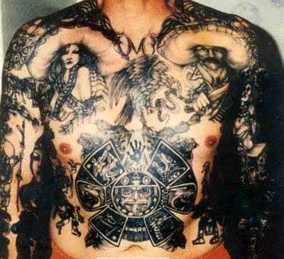 Mexican Tattoo Designs On Whole Body