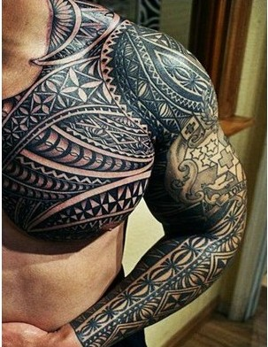Mexican Tribal Tattoo For Men | - 53.7KB