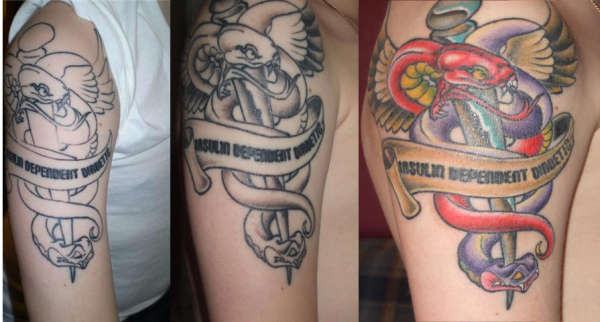 Military Medical Alert Tattoo Designs