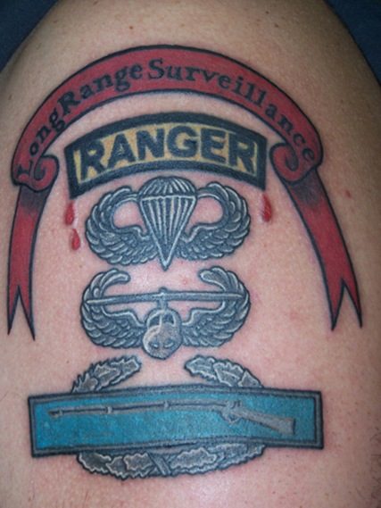 Military Ranger Tattoo Design