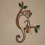 Monkey Tattoo Pattern
