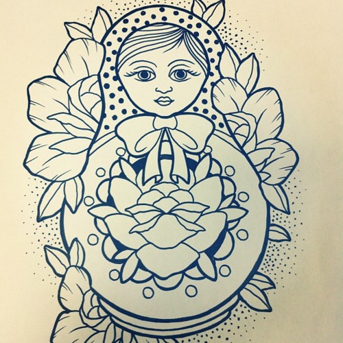 Matryoshka Tattoos Designs And Ideas Page 30