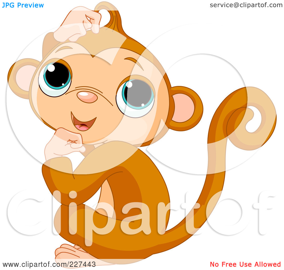 Cute Cartoon Monkey Tattoos Images amp Pictures Becuo