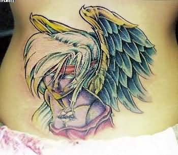 Amazing Angel Tattoo For Girls